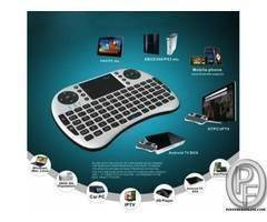 Wireless Keyboard with Touchpad Mouse Combo for Android TV Box PC