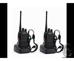 Walkie talkie radio for sale BF-888S Made in spain