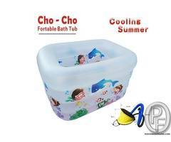 Imported  - Portable Kids Bath & Swimming Play Tub Summer Special - (Inflatable)