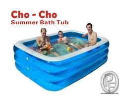 Inflatable Swimming Pool | Multi Color online at low price in India