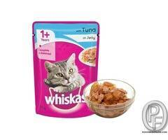 Whiskas Wet Meal Adult Cat Food, Tuna in Jelly, 85 g