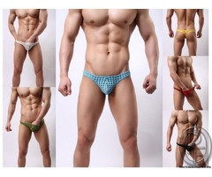Men's sexy underwear male temptation exotic G-string gay transparent hollow thong Male Lingeries