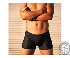 Big sale!!Men's Sexy boxer leisure fashion brand fine texture feel soft and comfortable