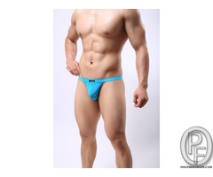 High quality mens sexy underwear tongs Men sheer g string Man transparent underwear G-strings