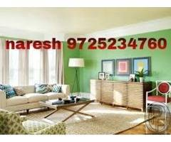 home painting wall color putti Ahmedabad color work