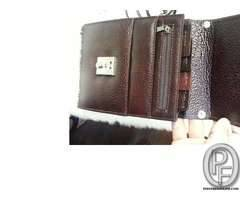 Leather travel Wallets for men